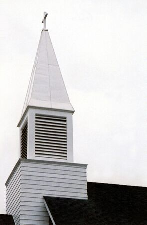 glorify: Steeple of a church.