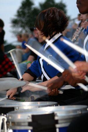 Drum Line Imagens