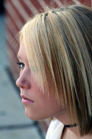 elusive: Elusive Profile Stock Photo