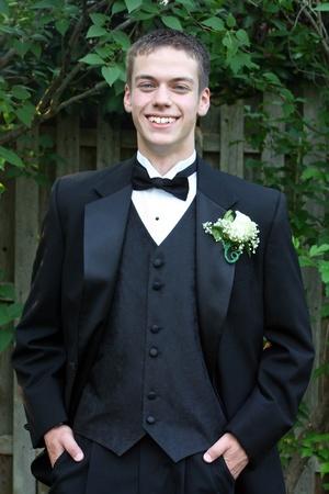 Handsome Prom Boy Vertical