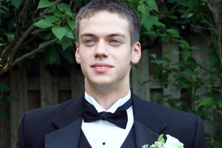 Handsome Prom Boy Horizontal photo