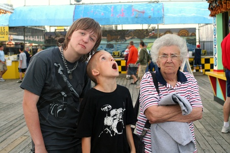 grandsons: Amusement Pier Family 2