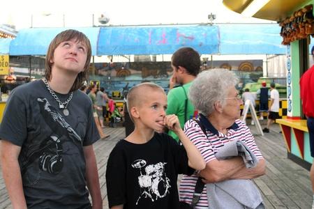 Amusement Pier Family Stock Photo - 11377861