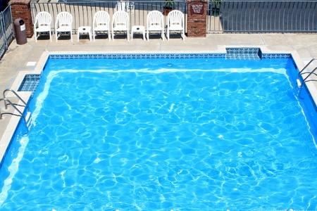모텔 수영장