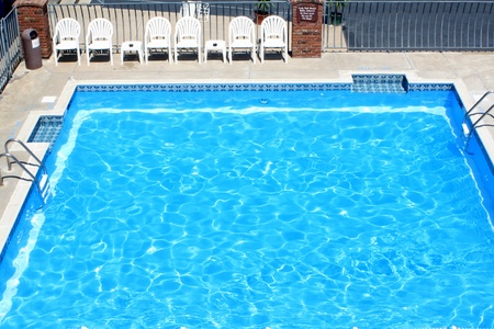 aerial views: Motel Pool
