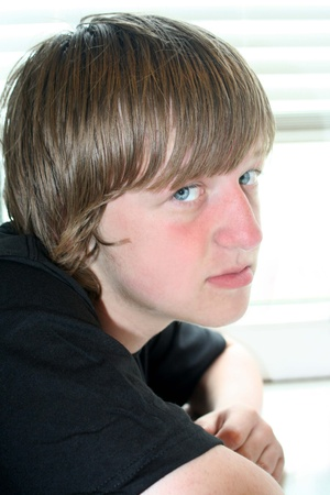 Heartbreaking Teen Boy Stock Photo - 11870338