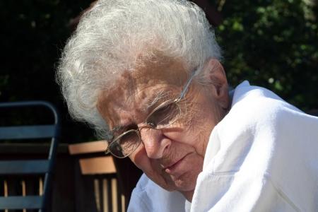 Introspective Senior photo