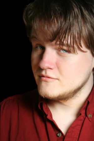 insightful: Charismatic Blue-Eyed Teen