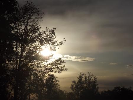 winters: winters sunrise Stock Photo