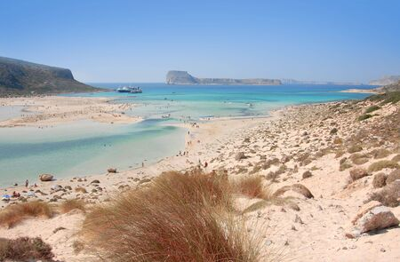 Outskirts of Crete where is pink sands photo