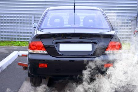 co action: diagnostics of automobile at the car service shop