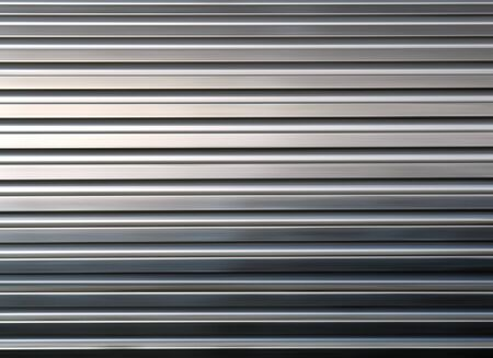 corrugated iron: shining metal texture figure of corrugated glazed background