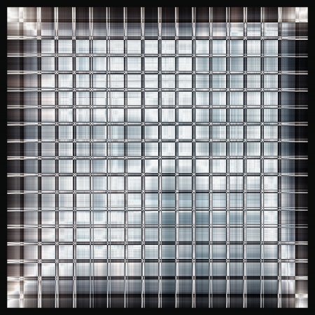 brushed aluminium: shining metal texture figure of corrugated glazed background