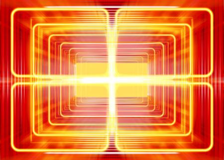 coil: modo de onda de la radiación electromagnética, resumen de antecedentes Foto de archivo