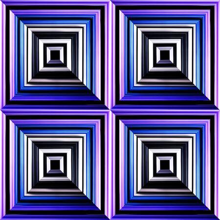 illusory: abstract background like illusory extension Stock Photo
