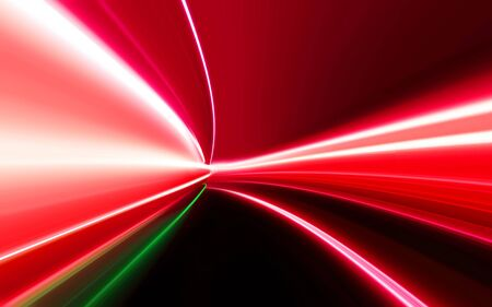 dazzling: motion blur light on high-speed highway of night city Stock Photo