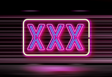 background of xxx lighting sign