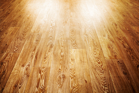 wooden floor covering which is applied in rooms