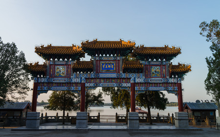 archway: Archway is one of the major symbols of ancient Chinese architectures. Editorial