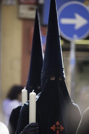 procession: Procesi�n de Pascua, Sevilla Foto de archivo