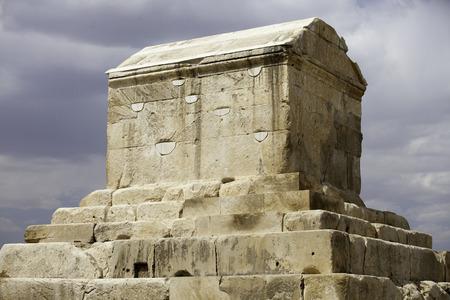 cyrus: Cyrus mausoleum, Pasargadae, Iran