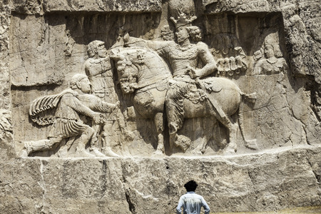 necropolis: Tomb odf Darius,necropolis near Persepolis