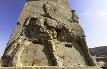 Persepolis, ancient site of persian empire photo