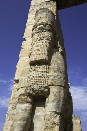 fars: Persepolis, ancient site of persian empire Stock Photo