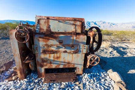 death valley: Old Tractor, Death Valley, California