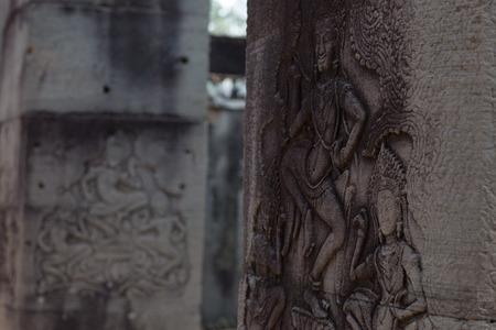 thom: Angkor Thom, Cambodia Stock Photo