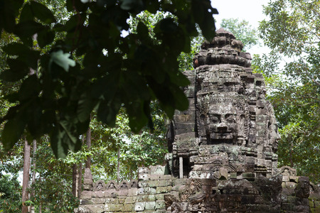 reap: Decoration in Agkor Thom, Siem Reap, Cambodia