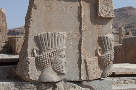 pintura rupestre: Pesepolis, patrimonio mundial de la zona arqueol�gica, Persia, Ir�n