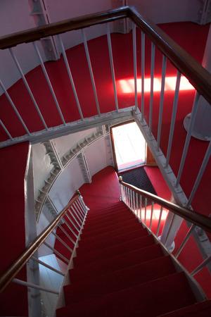 ende: Lighthouse, Southern Norway, Verdens Ende, Lands end Stock Photo