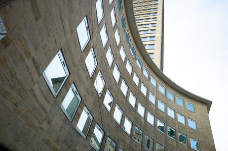 bruxelles: Architecture detail,in busines area, Bruxelles, Belgium