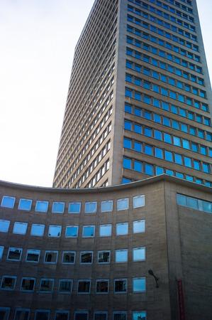 busines: Architecture detail,in busines area, Bruxelles, Belgium