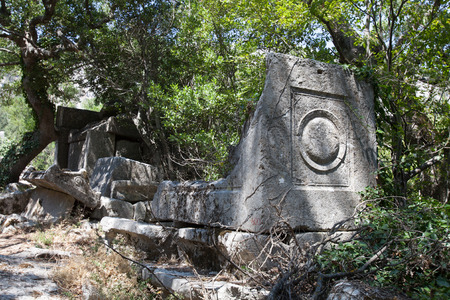 archeological site: Termessos, archeological site near Antalya, Turkye