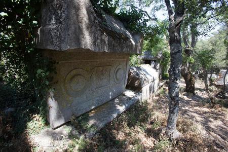 archeological site: Termessos archeological site near Antalya, Turkye