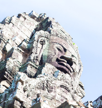 raider: Angkor thom,the most famous  religious site in Cambodia
