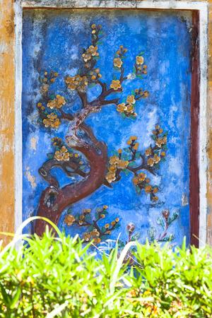 mausoleum: the Tu duc emperor mausoleum,Hue, Vietnam Stock Photo