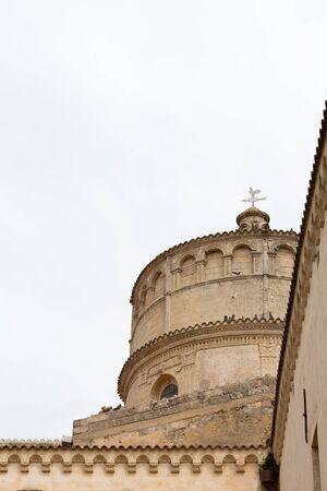 lucania: Abbey of  St. Michele Arcangelo, Montescaglioso, Basilicata, Italy