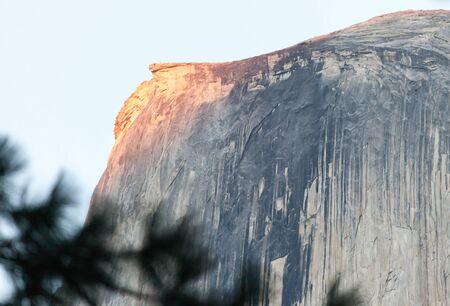 half dome: The dome in Yosemite National park, california, USA
