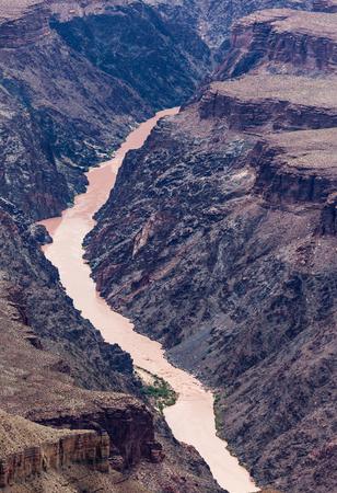 az: Colorado river in Grand Canyon, AZ Stock Photo