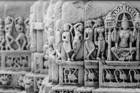 particular: Temple detail particular in Rajasthan India