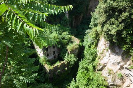 mill valley: The valley of mills near Tasso square in Sorrento.