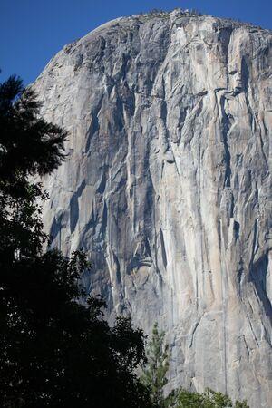 tunnel view: Water falls in Yosemite National park, california, USA