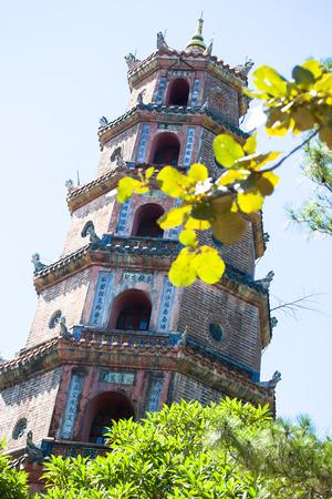 hue: Hue, the ancient pagoda Tu Hieu, Vietnam