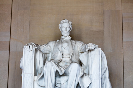 lincoln memorial: The Lincoln Memorial attraction and lamdmark in Washington DC
