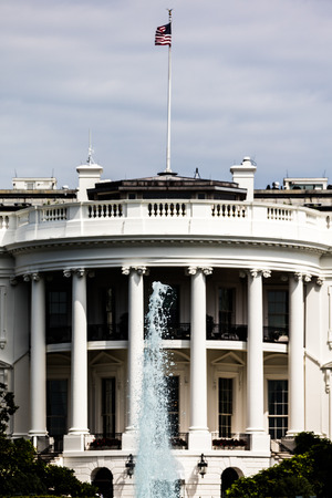 residency: View of the White House, the residency of president of USA Editorial