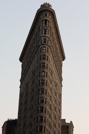 burnham: The Flatiron building sits on a triangular block formed by Fifth Avenue, Broadway and East 22nd Street, with 23rd Street in NYC