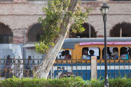 louis: Urban life in the streets of Saint louis, Senegal